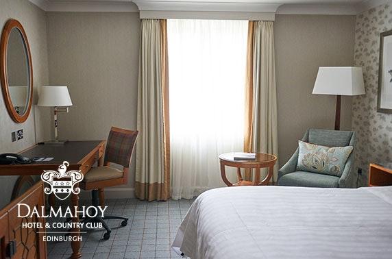 4* Dalmahoy Hotel & Country Club stay