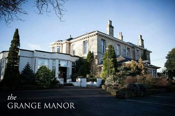 4* Grange Manor Hotel getaway - from £65