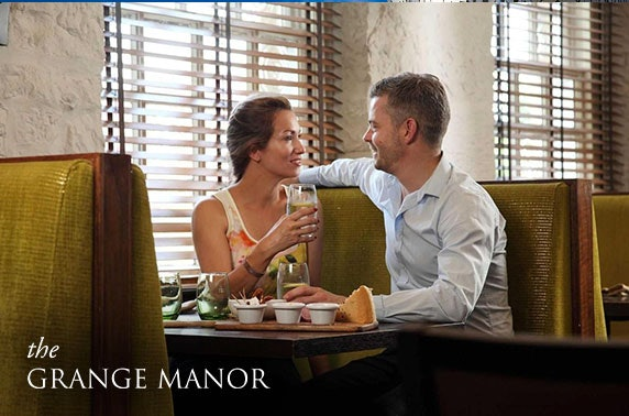 4* Grange Manor Hotel getaway - from £65