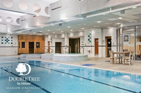4* DoubleTree by Hilton Strathclyde spa day & lunch
