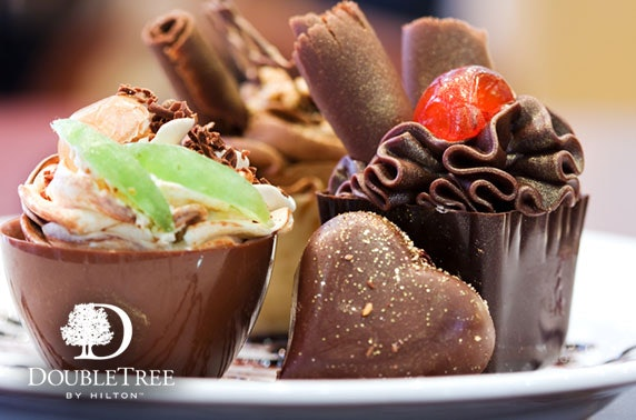 Prosecco afternoon tea at 4* DoubleTree by Hilton