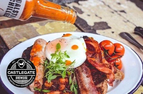 BrewDog Castlegate Prosecco brunch