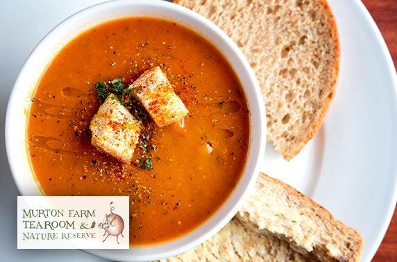 Murton Farm Tea Room lunch - £4pp