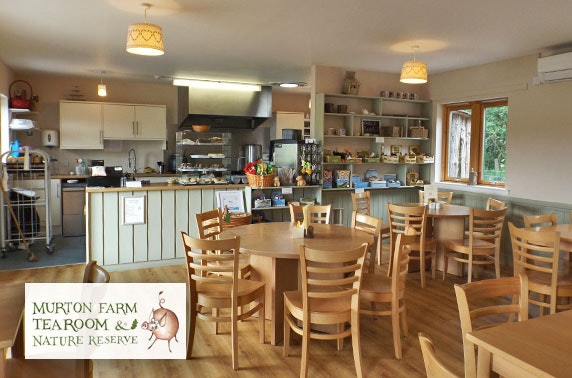 Murton Farm Tea Room lunch - £4pp