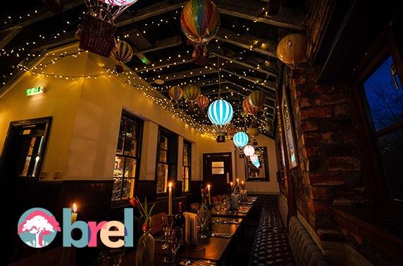 Private dining at Brel, Ashton Lane