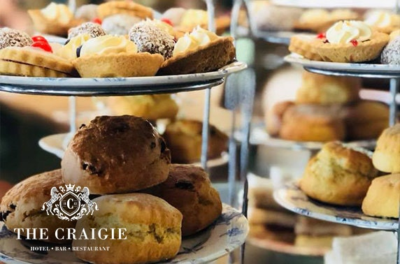 The Craigie Hotel afternoon tea