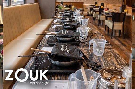 Zouk Tea Bar & Grill cooking class