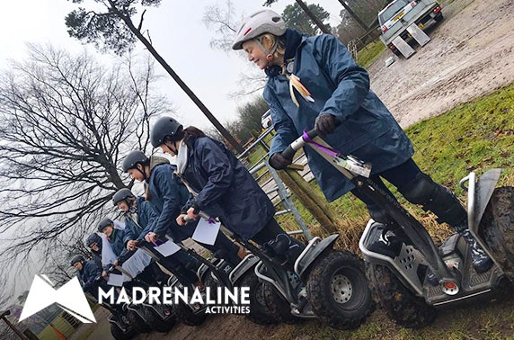 Madrenaline Activity Centre Segway experience - valid 7 days!