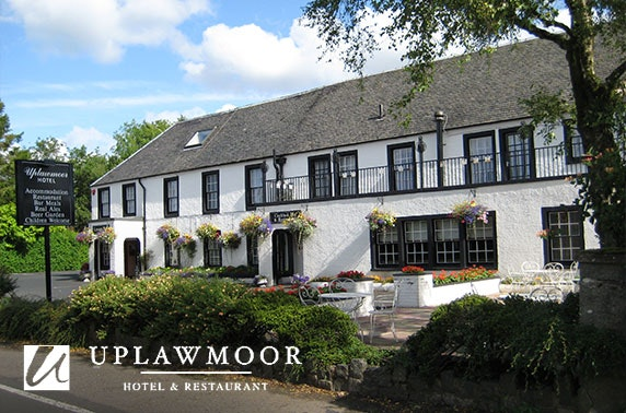 Afternoon tea at The Uplawmoor Hotel, Renfrewshire - valid 7 days