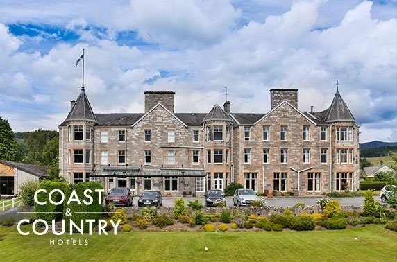 The Pitlochry Hydro stay - valid 7 days!