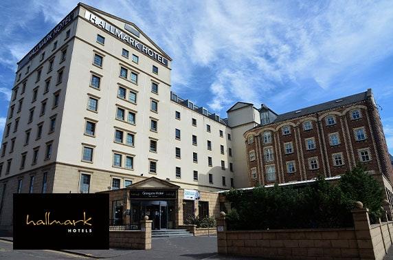 4* Hallmark Hotel Glasgow afternoon tea