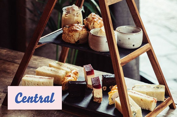 Prosecco Italian afternoon tea at Central Oven & Shaker