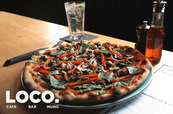 Bar Loco pizza - valid 7 days