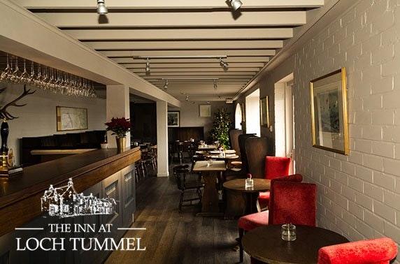 The Inn at Loch Tummel, Perthshire dining