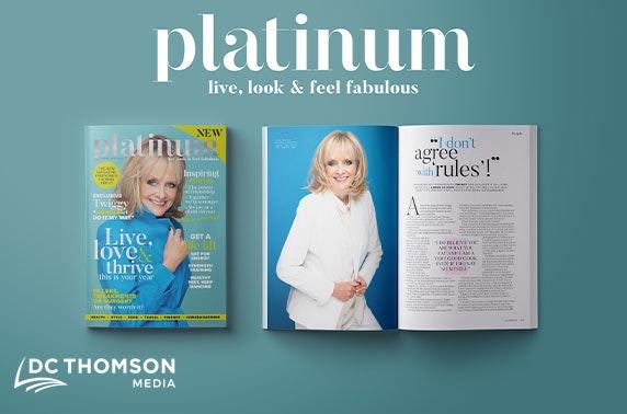 New Platinum magazine - £1 per issue