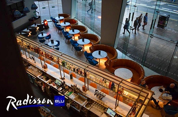 4* Radisson Blu Glasgow Sunday stay