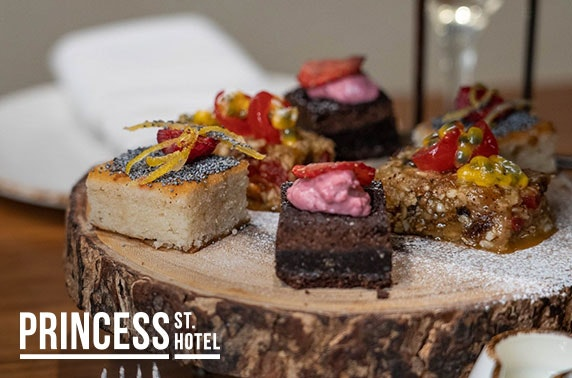 4* Princess St Hotel afternoon tea