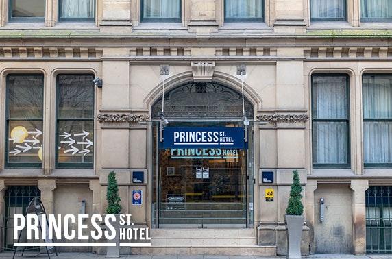 4* Princess St Hotel afternoon tea