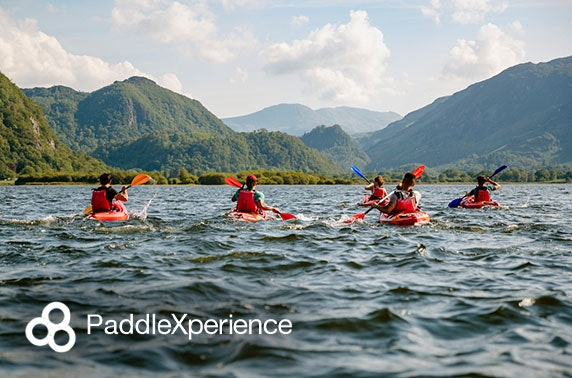 River or lake trip with PaddleXperience  - valid 7 days