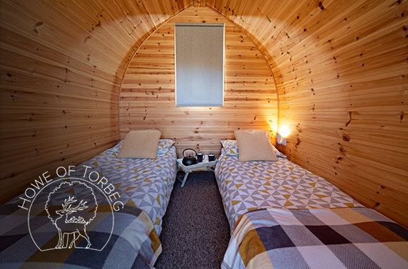 Howe of Torbeg, glamping in Royal Deeside - valid 7 days