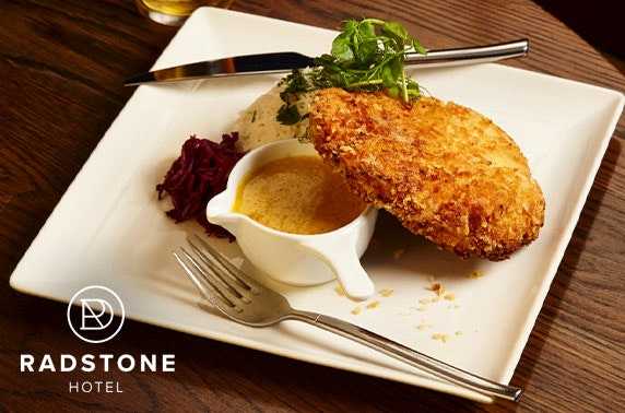 Award-winning Radstone Hotel dining