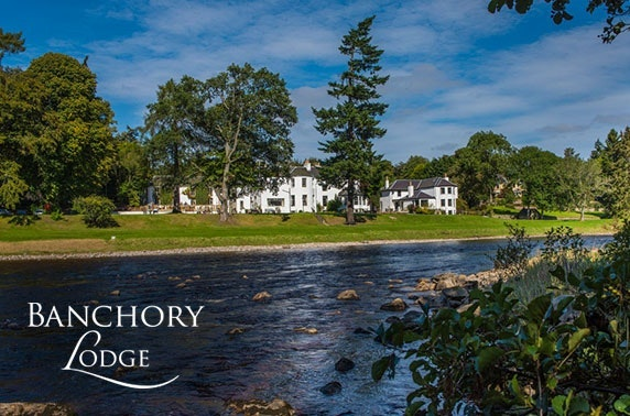 Stunning Banchory Lodge getaway - valid 7 days Oct - Dec