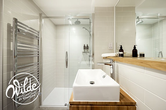 Recently opened Wilde Aparthotels, Edinburgh - valid 7 days