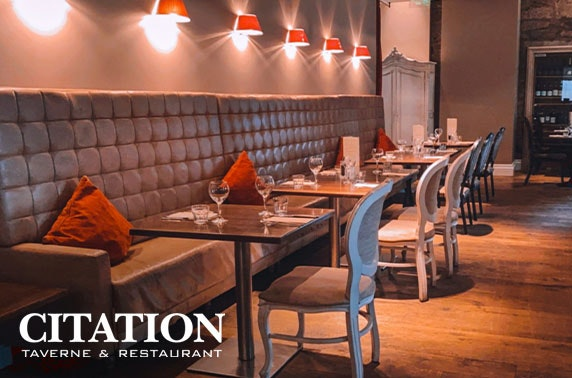 Citation dining & wine - valid 7 days!