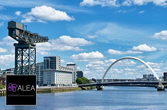Laurent-Perrier Champagne Terrace at Alea Glasgow