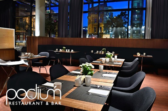 Hilton Manchester Deansgate dining