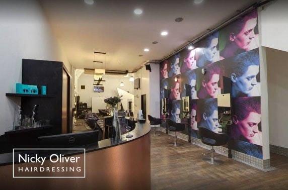 £50 Nicky Oliver salon spend