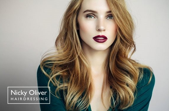 £50 Nicky Oliver salon spend