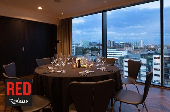 Award-winning Radisson RED private dining