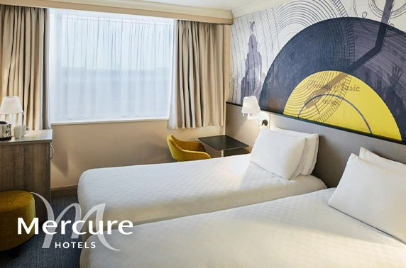 4* Mercure Liverpool Atlantic Tower Hotel stay