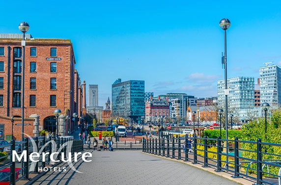 4* Mercure Liverpool Atlantic Tower Hotel stay