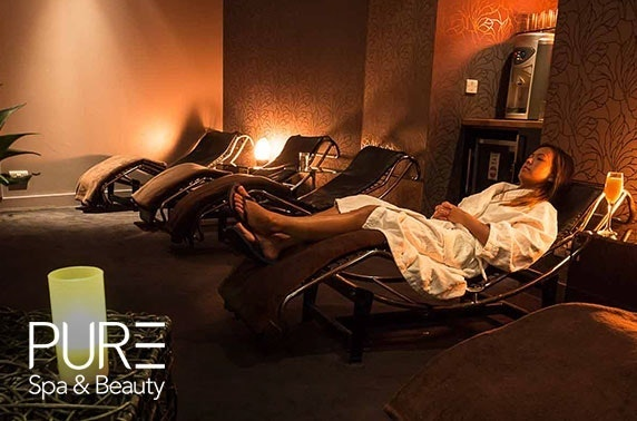 PURE Spa & Beauty facial, Glasgow
