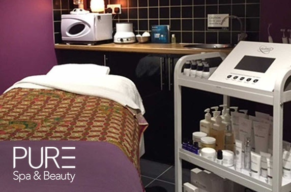 PURE Spa & Beauty facial, Aberdeen