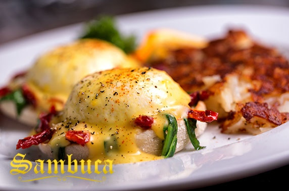 Sambuca, Eldon Garden brunch - valid until September!