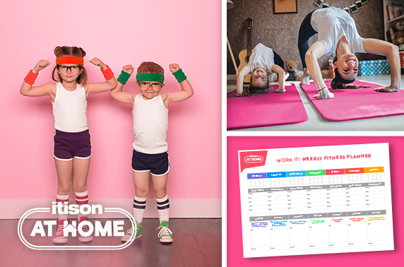 A daily timetable of home workouts