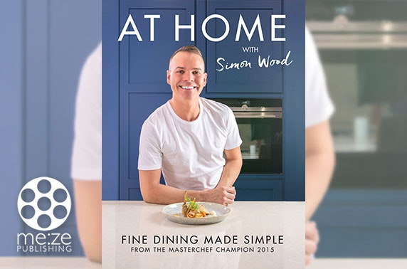 MasterChef-winning cook book by Simon Wood - inc. P&P