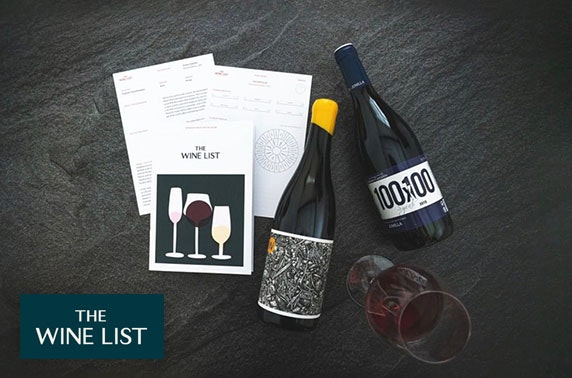 Monthly wine subscription - £20