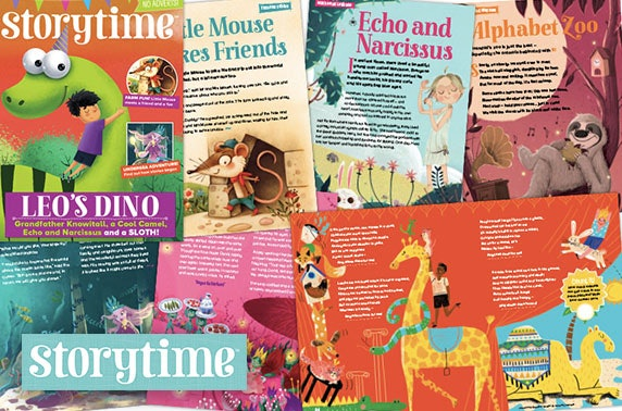 Storytime Magazine subscription - from under £1.70 per month!