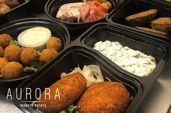 Award-winning Aurora dining at home
