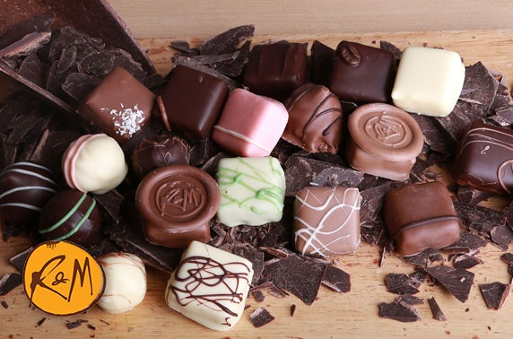 Luxury chocolates or workshops - from £8