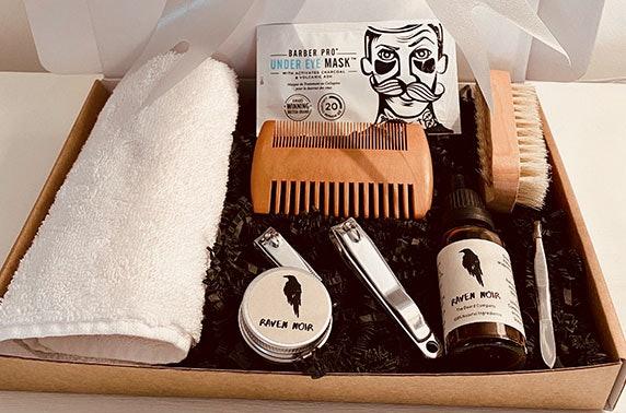 Luxury men's grooming kit