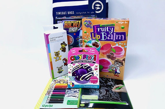 Kids home isolation activity pack from Timeout Bags