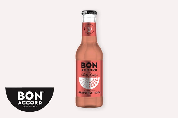 Multi-award-winning Bon Accord Soft Drinks tonic or soda, inc P&P