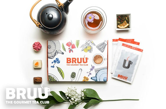 Bruu Tea subscription - from under £5 per month