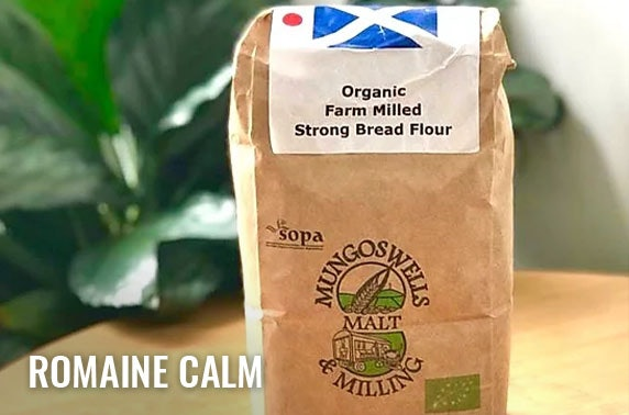 Baking or fresh produce box from Romaine Calm