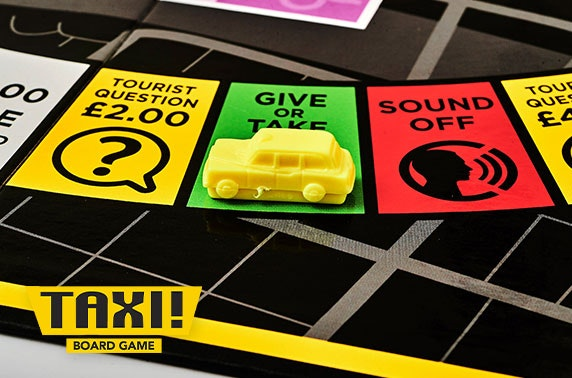 Taxi! Board Game Glasgow edition